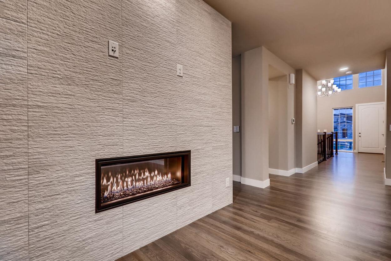 Corridor in a ranch style home in Parker Colorado