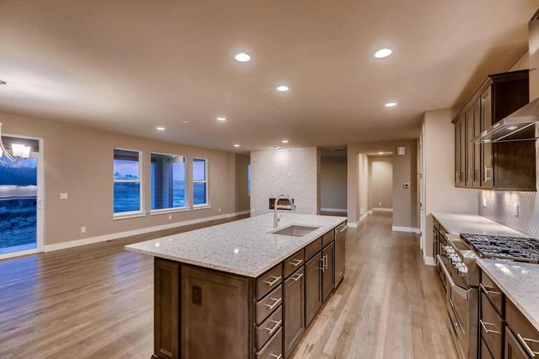 Modern Great Room at Luxury Home Near Denver- 5608 Raintree Drive Parker